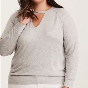 Torrid Choker Sweater